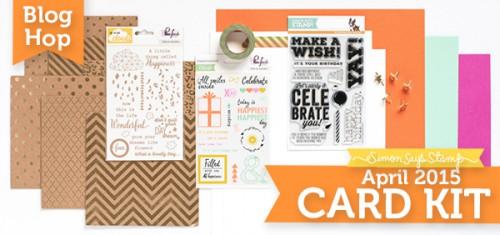 Simon Says Stamp April 2015 Card Kit Blog Hop