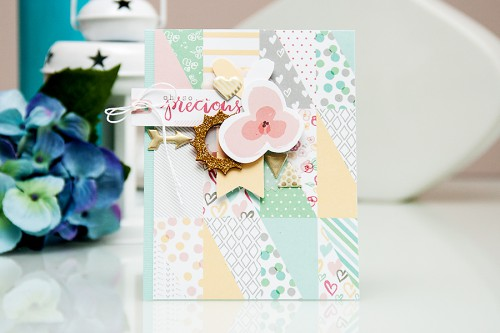 Yana Smakula | Gossamer Blue April 2015 Kits - Cards