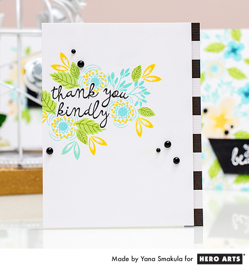 Yana Smakula | Hero Arts Color Layering Let Love Grow
