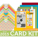 Simon Says Stamp Card Kit of the Month JUNE 2015 BE HAPPY ckJune15
