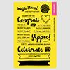 Waffle Flower Crafts Congrats stamp set