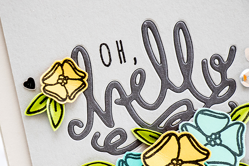 Neat & Tangled | Oh Hello Inlaid Die Cutting Card