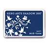 Hero Arts Shadow Ink Pad NAVY Blue Mid-Tone af234
