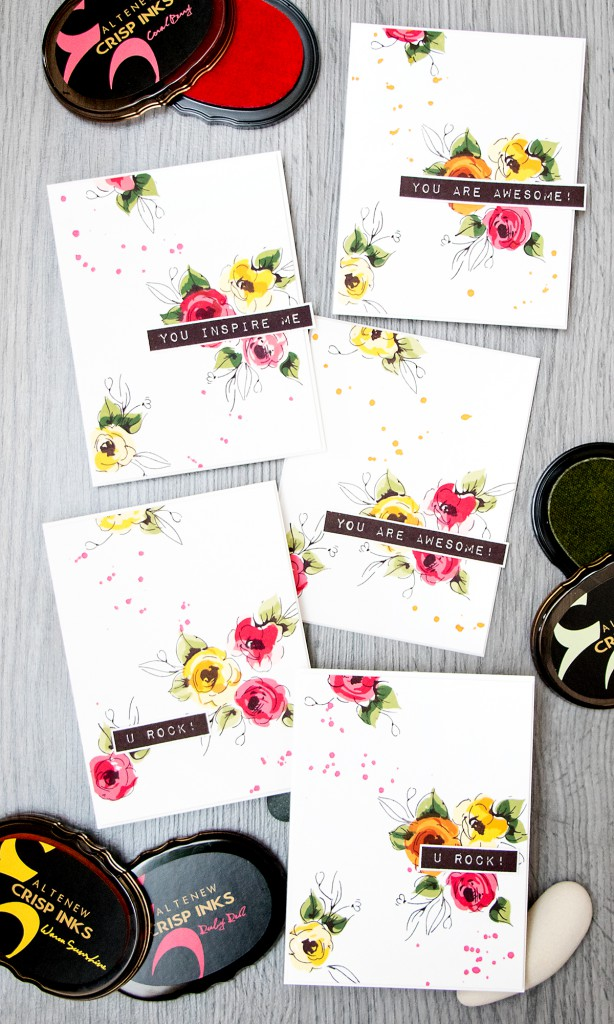 Altenew | Painted Flowers Cards