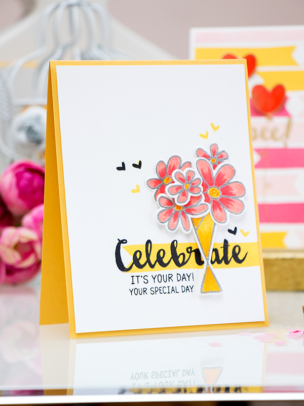 Waffle Flower Crafts - Bright Summer Cards. Video