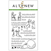 Altenew FIGURE EFFECTS Clear Stamp Set AN105