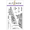 Altenew SKETCHY CITIES ABROAD Clear Stamp Set AN116