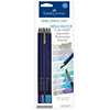 Faber-Castell BLUE Grip Aquarelle Watercolor Pencils 9pk 770113