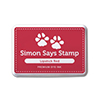 Simon Says Stamp Premium Dye Ink Pad LIPSTICK RED ink010
