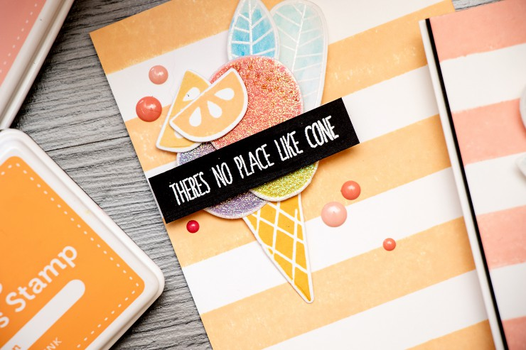 The Color of Fun! Sugary Ice Cream Card. Video
