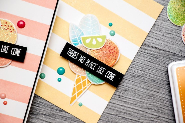 The Color of Fun! Sugary Ice Cream Card. Video