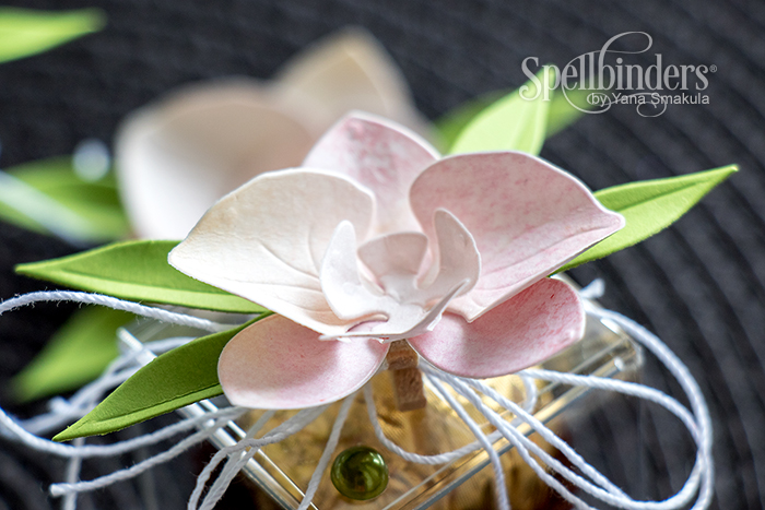 Yana Smakula | Spellbinders Paper Orchid Gift Toppers