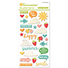 October Afternoon SUMMERTIME Pillow Puffs Stickers EM1317