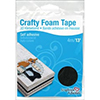Scrapbook Adhesives Crafty BLACK Foam Tape Roll Adhesive