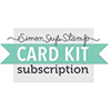 Simon Says Stamp Card Kit of the Month 2015 SUBSCRIPTION