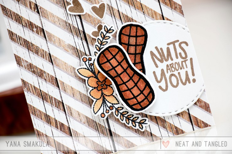 Neat & Tangled July Release. Day 5 – Nuts About You!
