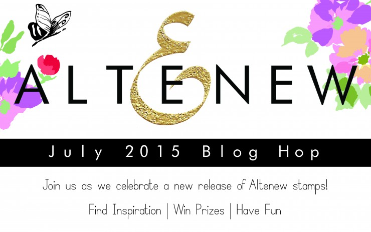 Altenew July 2015 Release Blog Hop + Giveaway!
