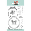 Neat and Tangled HAND STITCHED Clear Stamp Set