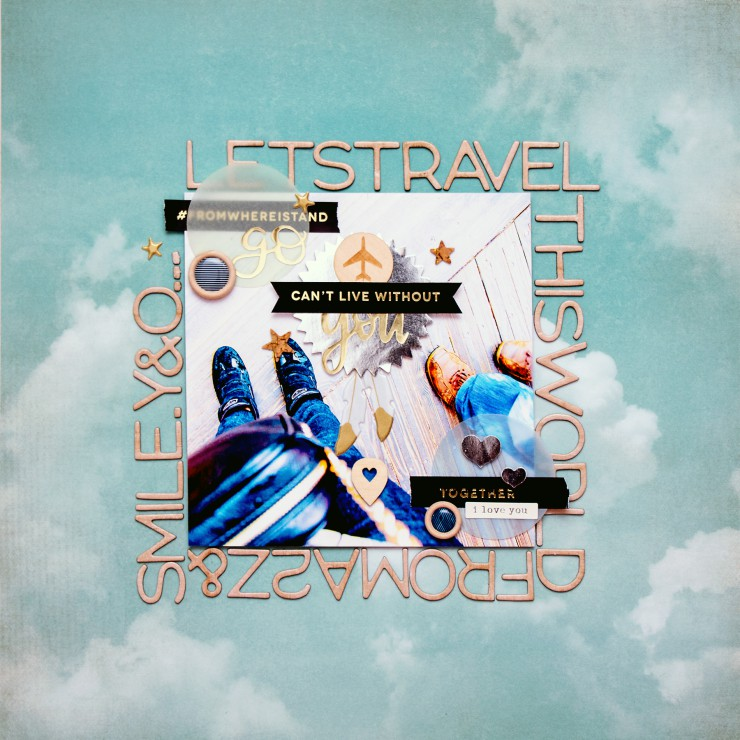 Gossamer Blue - Lets Travel This World Layout