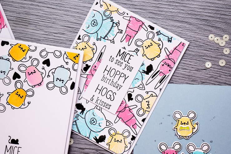 Yana Smakula | Mice to see you Hero Arts Baby Animals Cards
