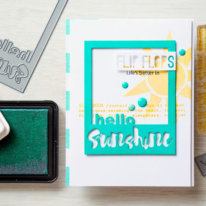Simon Says Stamp | Hello Sunshine