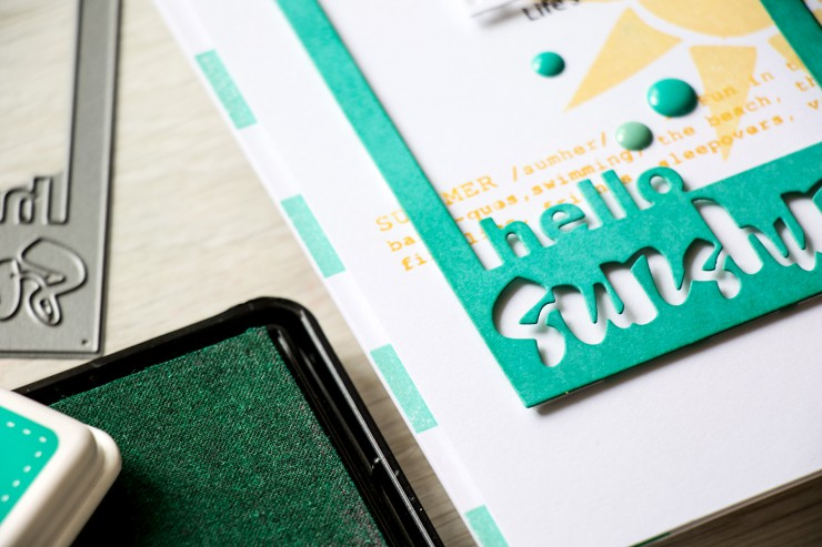 Yama Smakula | Simon Says Stamp Splash of Color Hello Sunshine Card