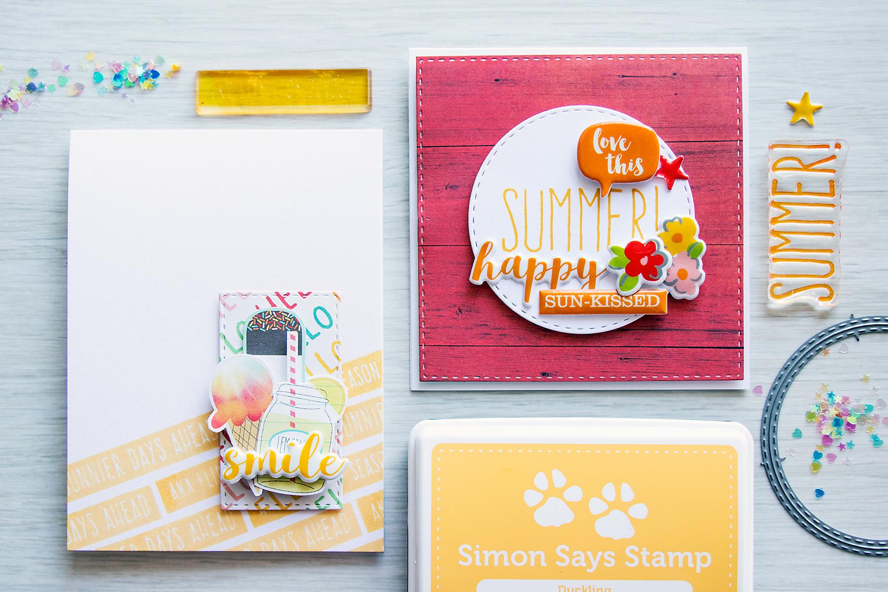 Yana Smakula | Simon Says Stamp August Card Kit – Happy Summer