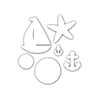 Simon Says Stamp SET SAIL Wafer Dies sssd111478 Splash of Color