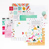 PinkFresh Studio HAPPY THINGS 6x6 Inch Paper Pad PFSHAPPY6