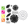 Hero Arts Color Layering Graphic Flowers Bundle SB114