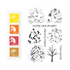Hero Arts Color Layering Fall Trees Bundle SB115