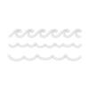 Simon Says Stamp BORDER WAVES Wafer Dies sssd111479 Splash of Color