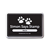 Simon Says Stamp Black Dye Ink Pad Black