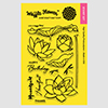 Waffle Flowers Lotus Stamp Set