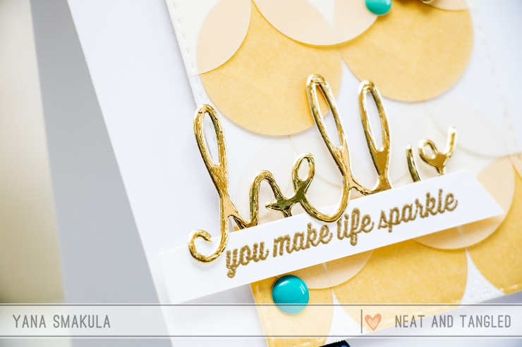 Yana Smakula | Neat&Tangled: You Make Life Sparkle