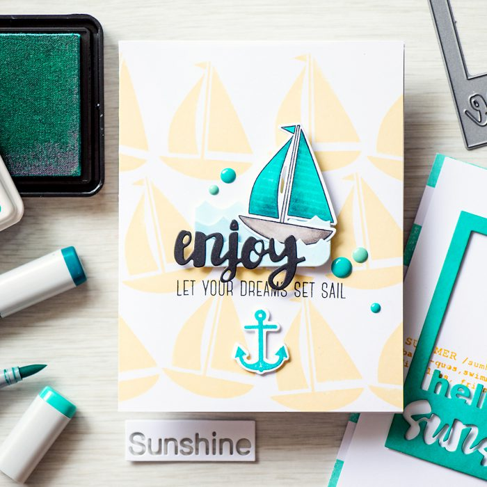 Simon Says Stamp | Let Your Dreams Set Sail