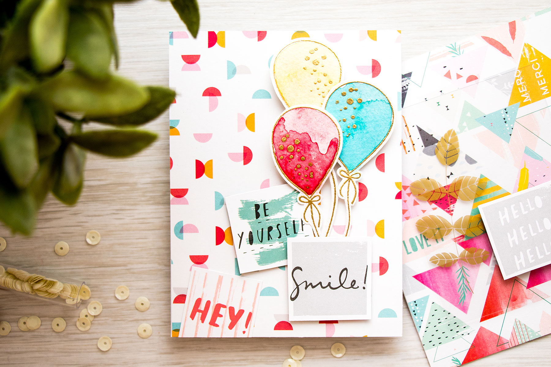 Yana Smakula | Simon Says Stamp September Card Kit – Be Yourself & Smile