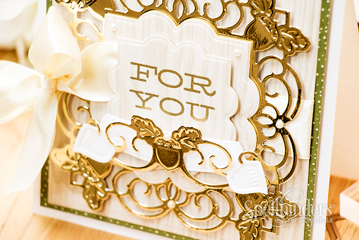Yana Smakula Spellbinders: For You Card featuring Spellbinders Classic 2015 Collection