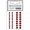 Hero Arts 40 Assorted RED METALLIC Decor Embellishments ch188 Self