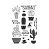 Hero Arts Clear Stamps MERRY CACTUS TO YOU CL909