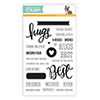 Simon Says Clear Stamps BEST HUGS sss101552 STAMPtember