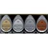 Tsukineko Brilliance PLANETARIUM 4 Dew Drop Ink Pads Metallics BD-100-006