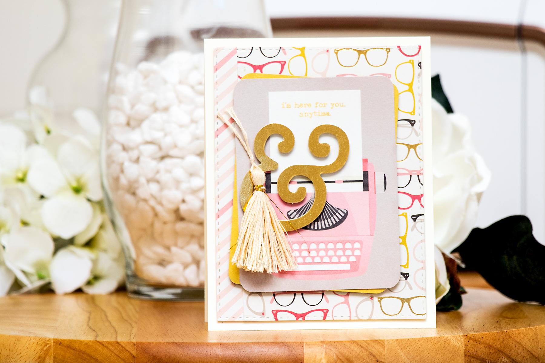 Yana Smakula | Simon Says Stamp October Card Kit - I'm Here For You Anytime
