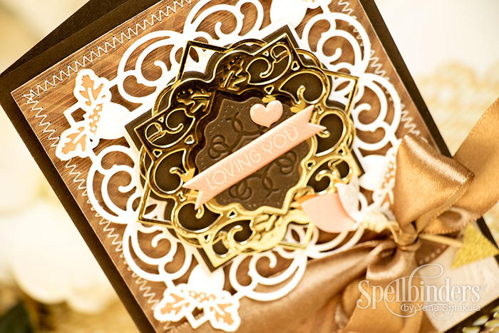Yana Smakula | Spellbinders Loving You Fall Card