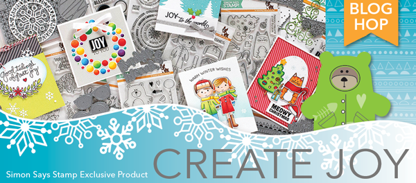 Simon Says Stamp Create Joy Release Blog Hop. Purrfect Holidays