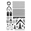 Hero Arts Clear Stamps MAKE A GINGERBREAD HOUSE BY LIA CL895 Lia Griffith