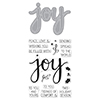 Hero Arts JOY Coordinating Stamp And Die Set DC169