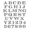 S5-239 Etched Alphabet