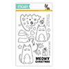 Simon Says Clear Stamps Christmas Cats