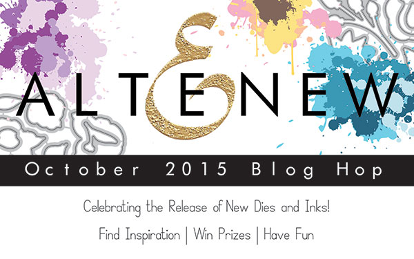 Altenew October Dies and Inks Release Blog Hop + Giveaway